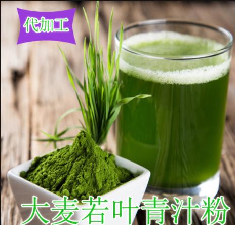 大麥青汁代加工 沖飲品 固體飲料 植物飲料 各種規格 包裝物料
